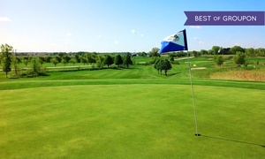 Kestrel Ridge Golf Course: 18-Hole Round of Golf with Cart and Range Balls for Two or Four at Kestrel Ridge Golf Club (51% Off)