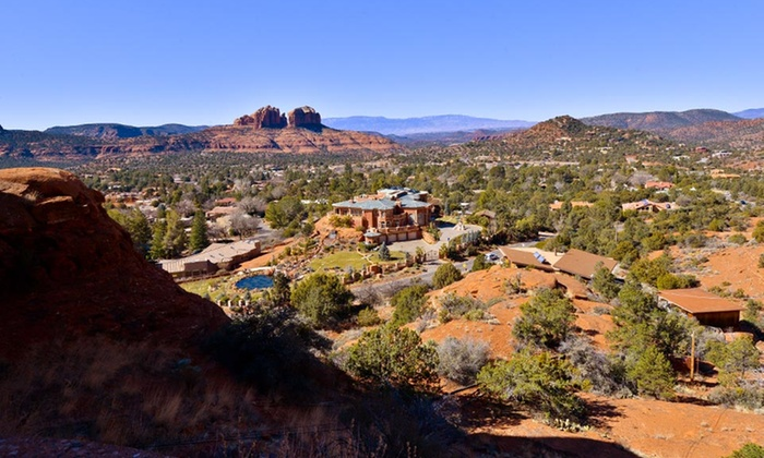 Arroyo Pinion Hotel - Sedona: 1- or 2-Night Stay with a Wine Package at Arroyo Pinion Hotel in Sedona, AZ