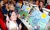 Wine and Canvas (Orlando) - Multiple Locations: Wine and Painting Class for One or Two at Wine and Canvas (Up to 54% Off)