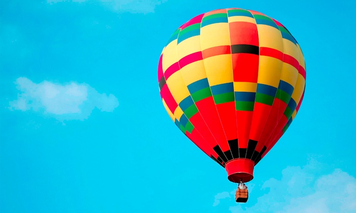 Panorama Balloon Tours - North City: Del Mar Sunset Hot Air Balloon Tour for One, Two, or Four from Panorama Balloon Tours (Up to 56% Off)
