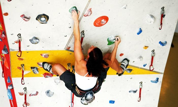Climbing Factory - Hiltpoltstein: Kletter-Schnupperkurs inklusive Eintritt, Einweisung, Trainer und Ausrüstung in der Climbing Factory für 17,50 €