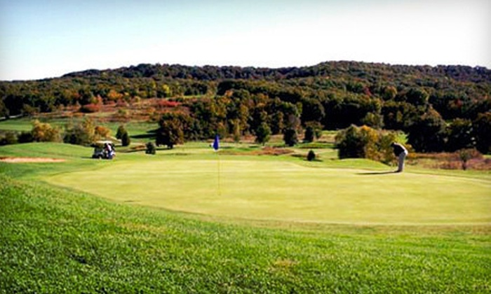 Sun Valley Golf Course - Burr Oak: Weekday or Weekend Round of Golf with Range Balls for Two at Sun Valley Golf Course (Up to Half Off)