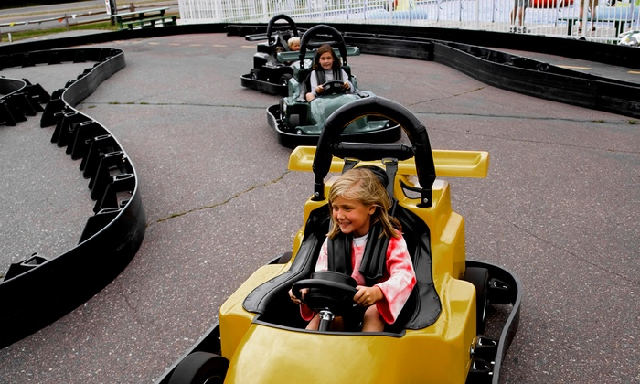 Zone Action Park - Lewisville: Three Hours of Go-Karting and Mini Golf for 2, 4, or 6 or Birthday Bash for Up to 16 at Zone Action Park (Up to 57% Off)