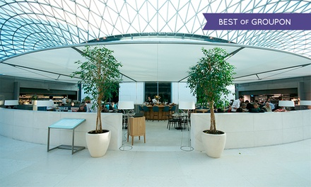 Three-Course Meal for One or Two at the British Museum's Great Court Restaurant (Up to 31% Off)