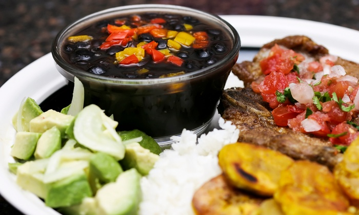 Latin Cabana - Astoria: Cuban Meal for 2 or 4 or Catering for 10 or 20 at Latin Cabana (Up to 55% Off)
