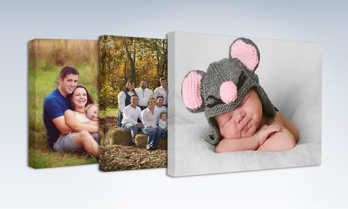 "Gallery Direct: One or Two Custom Gallery Wrapped 16""x20"" Photo Canvases from Gallery Direct (Up to 68% Off)"
