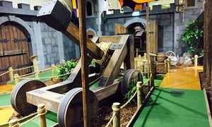 Mini Golf King: 18 Holes of Mini Golf for Two ($15), Three ($21) or Four People ($26) at Mini Golf King (Up to $60 Value)