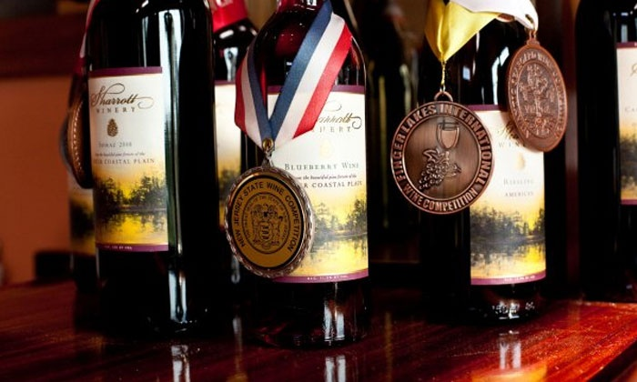 Sharrott Winery - Hammonton: Wine-Tasting Experience for Four or Six at Sharrott Winery (Half Off)