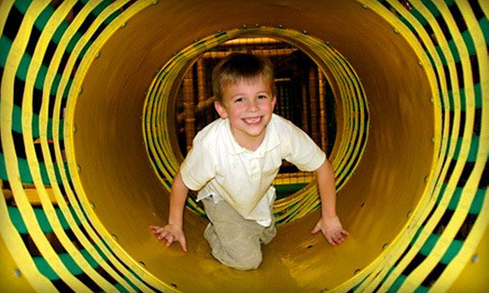 Jungle Java - Multiple Locations: $25 for Seven All-Day Play-Center Visits at Jungle Java (Up to $52.50 Value)