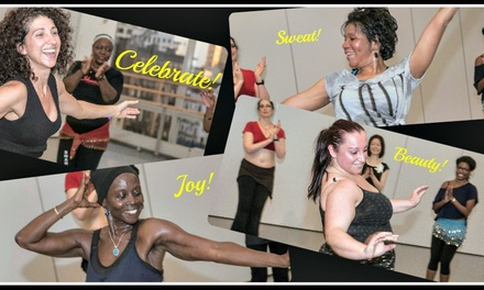 Four Fitness Belly-Dance Classes with Tandava Arts (71% Off)