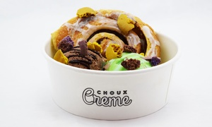 Choux Creme: Fresh Ice Cream Made with Liquid Nitrogen at Choux Creme (40% Off)