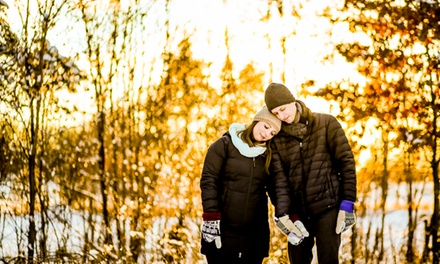 60-Minute Engagement Photo Shoot from Ian Leyton (75% Off)