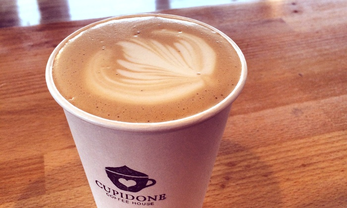 Cupidone Coffee House - Vancouver: $11 for Four Groupons, Each Good for $5 Toward Any Drink or Pastry at Cupidone Coffee House ($20 Value)