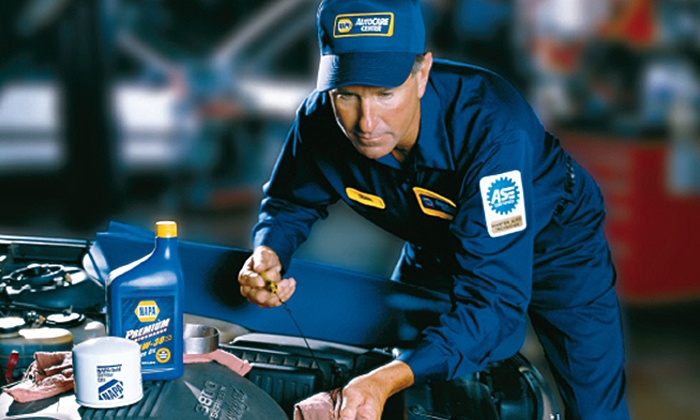 Napa Auto Care Center - NAPA: One or Three Synthetic-Blend Oil Changes with Tire Rotation and Inspection at Napa Auto Care Center (Up to 53% Off)