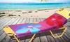 "Two 28""x58"" Beach Bound Printed Fiber Reactive Beach Towels: Two 28""x58"" Beach Bound Printed Fiber Reactive Beach Towels"