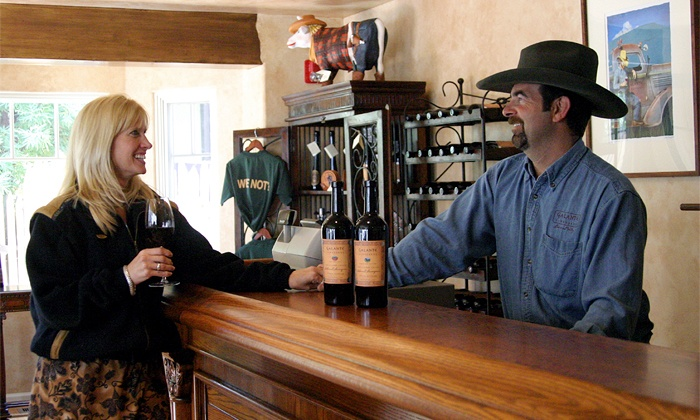 Galante Vineyards Tasting Room - Carmel-by-the-Sea: Wine Tasting for Two or Four with Credit Toward Wine Purchase at Galante Vineyards Tasting Room (Up to 38% Off)