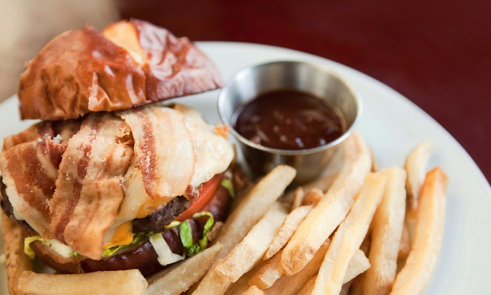 Spud Monkey's Bar and Grill - Wilkes East: Burgers and Beer for Two or Four at Spud Monkey's Bar and Grill (Up to 52% Off)