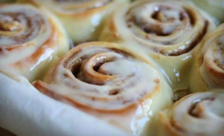 Cinnamon Rolls and Pastries at Cinnabon (Half Off)