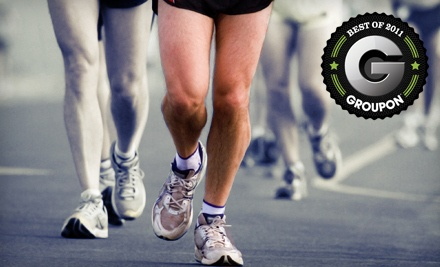 $50 Groupon - The Finish Line Running Store in Emmaus