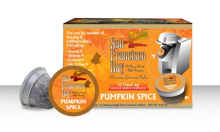 Three 12-Packs of OneCup Pumpkin Spice Coffee: $18.99 for Three 12-Packs of OneCup Pumpkin Spice Coffee ($20.97 List Price). Free Shipping.