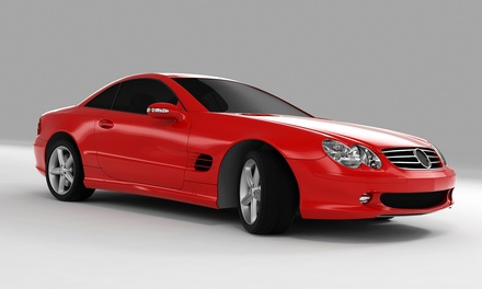 Window Tinting for a Car or SUV from Alta Mere Window Tinting and Auto Alarms (Up to 52% Off). Three Options.