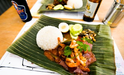 image for Nasi Lemak Meal with Soft Drinks for Two or Four at Jalan Malaysia (Up to 38% Off)