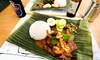 Jalan Malaysia - Cardiff: Nasi Lemak Meal with Soft Drinks for Two or Four at Jalan Malaysia (Up to 38% Off)