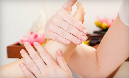 60-Minute Relaxation Massage or Thai Foot-Reflexology Session at Sanctuary Massage Therapy (Up to 51% Off)