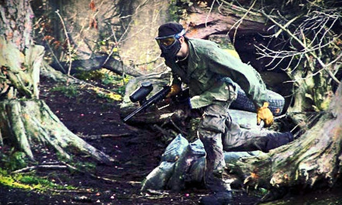Tsawwassen Paintball - Tsawwassen: Paintball Package for Two or Four with Equipment Rental and Paintballs at Tsawwassen Paintball (Up to 53% Off)