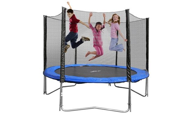 4ft 16ft Round Trampoline Groupon Goods