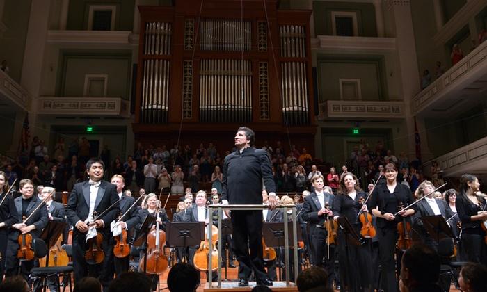 A Nashville Symphony New Year's Eve: The Best of Gershwin, Strauss & More - Schermerhorn Symphony Center: A Nashville Symphony New Year's Eve: The Best of Gershwin, Strauss & More on December 31 (Up to 50% Off)