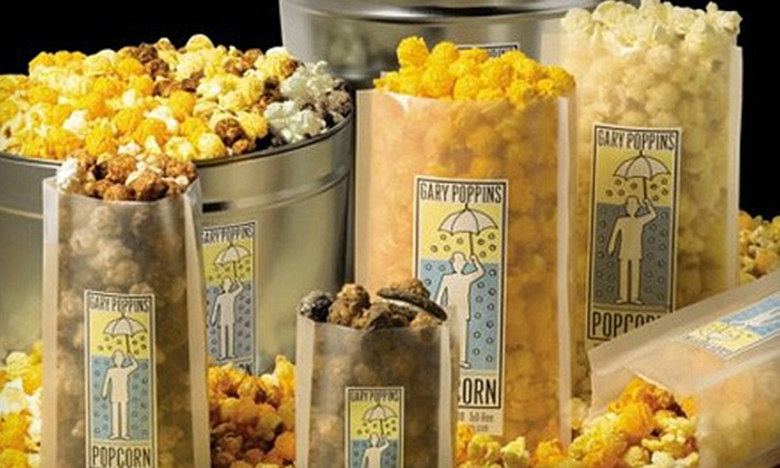 Gary Poppins: $20 for $40 Worth of Popcorn and Roasted Nuts from Gary Poppins