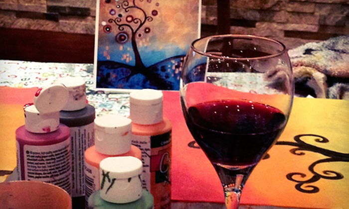 Everyday Art - Oakville: Painting in the Park Class or Artful Pub Painting Night for 1, 2, or 4 with Drinks from Everyday Art (Up to 61% Off)