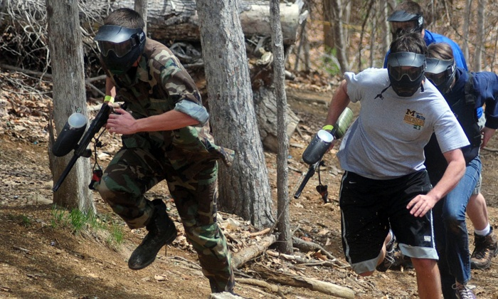 Hogback Mountain Paintball - Blue Ridge: Paintball Package for Two or Four at Hogback Mountain Paintball (Up to 50% Off)