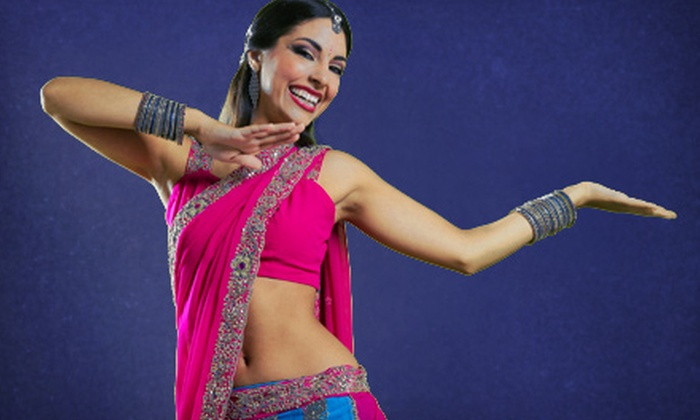 Fusion Beatz - Multiple Locations: 5 or 10 Bollywood Dance Fitness Classes for One or Two at Fusion Beatz (Up to 64% Off)