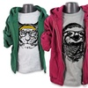 Toddler Boys' Animal-Themed T-Shirt and Hoodie Sets