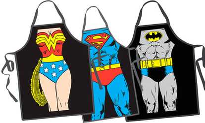 Superbe Shop Groupon Superhero Kitchen Apron