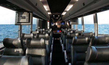 $165 for an All-Day Music-and-Wine Tour for Two from Hampton Luxury Liner ($370 Value)