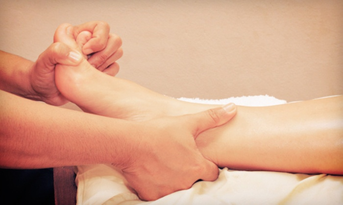 Healthy Foot Spa - Chinatown - Leather District: 60-Minute, 90-Minute, or Couples 60-Minute Reflexology and Bodywork Session at Healthy Foot Spa (Up to 54% Off)