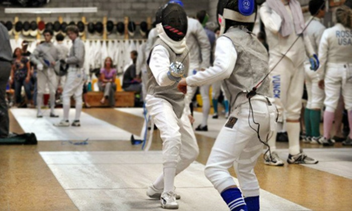 Richmond Fencing Club - Scott's Addition: Four Beginners' Fencing Classes or One-Week Summer Camp at Richmond Fencing Club (Up to 56% Off)