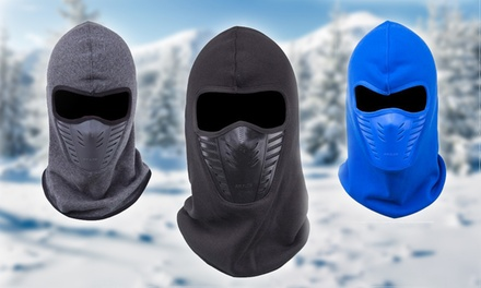 One, Two or Three Thermal Winter Face Masks in Choice of Colour