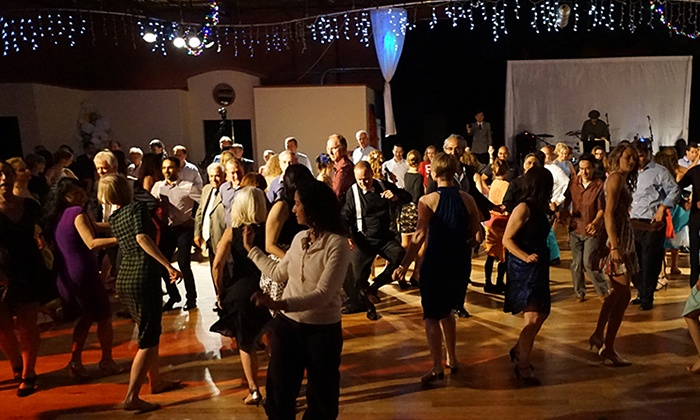 Allegro - Emeryville: 10 Entries for One or Two People to Live-Band Salsa, Bachata, & Kizomba Events from Allegro Ballroom (Up to 55% Off)