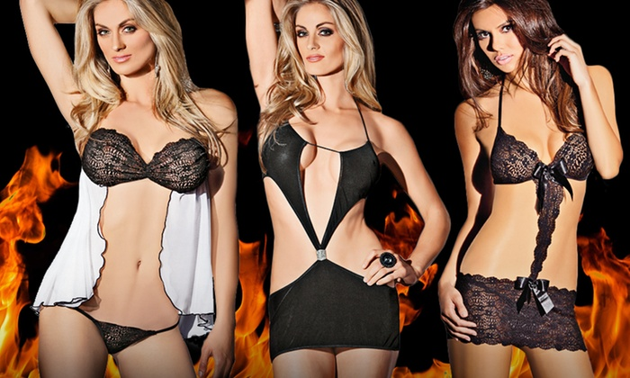 Escanté Lingerie Sets: Escanté Lingerie Sets. Multiple Styles from $11.99–$14.99.