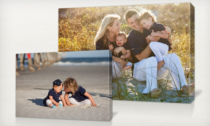 """Picaboo: $29 for a 16""""x24"""" Custom Canvas Print from Picaboo ($99.99 Value)"""