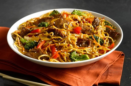 Mongolian Stir-Fry for Two or Four at HuHot Mongolian Grill (Up to 40% Off). Three Options Available.