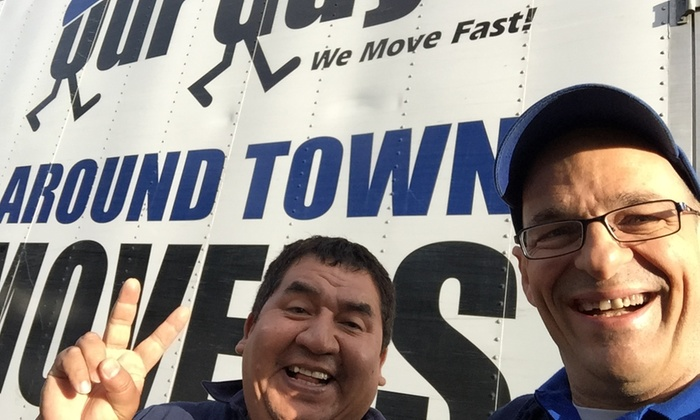 Our Guys Around Town Movers - Washington DC: Two Hours of Moving Services from Our Guys Around Town Movers (50% Off)