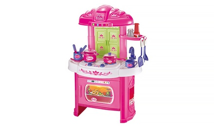 My Kitchen 16-Piece Play Set with Lights and Sound