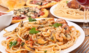 Machiavelli's: Pizza and Italian Food for Two or Four at Machiavelli's (40% Off)