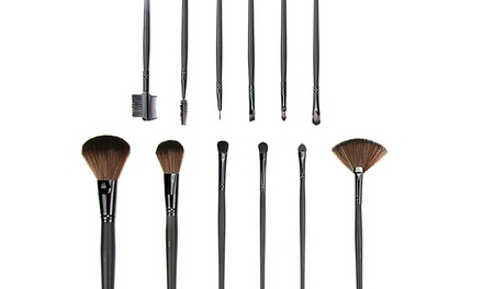 Beauté Basics 12-Piece Professional Cosmetic Brush Set