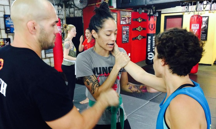 The Jungle MMA & Fitness - Colonialtown North: Up to 73% Off 4 or 8 Weeks of Fitness Classes at The Jungle MMA & Fitness
